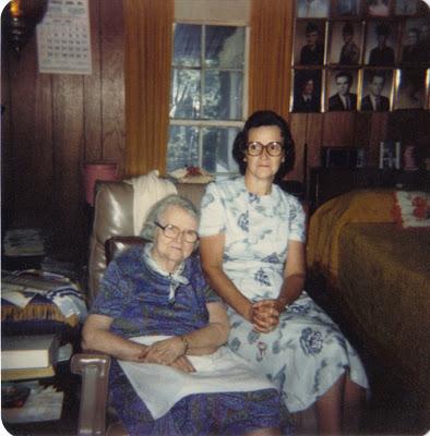 Grandma Ellis & Great-Grandma Spears