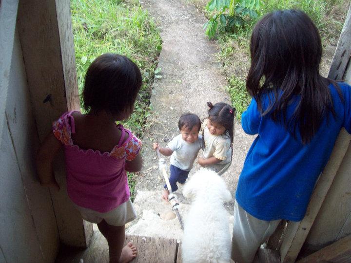 "Some precious children in ""Terminal City."""