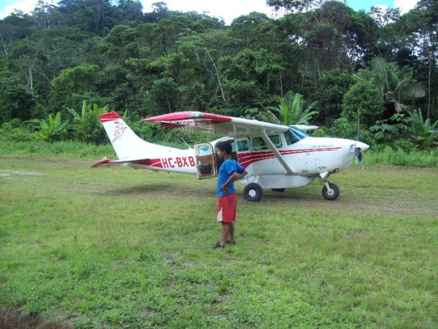 MAF's airplane.