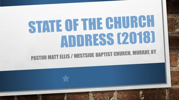 State of the Church Address (2018)