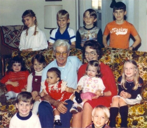 1981 Grandparents and Grandkids