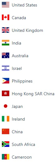 countries 1