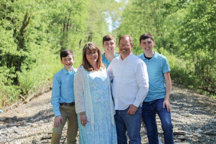 Railroad tracks - family