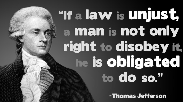 Quote About Voting By Thomas Jefferson Civil Disobedience 1 … | Pinteres…